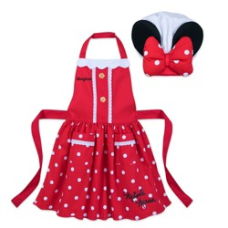 Disney Minnie Mouse Kids Cooking Apron