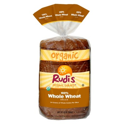 Rudi's Organic 100% Whole Wheat Bread - 22oz