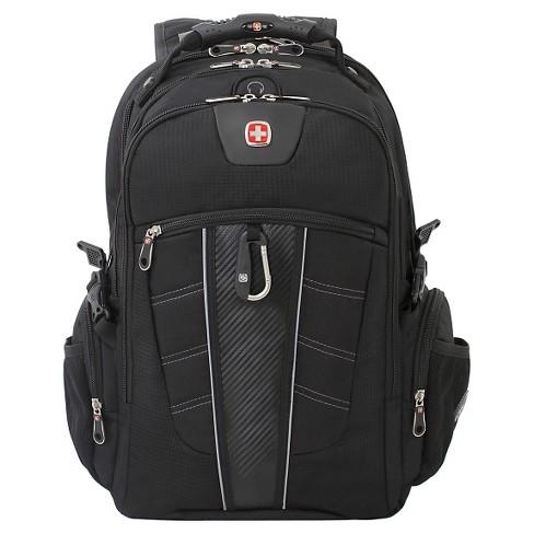 """SWISSGEAR ScanSmart 18.5"""" Backpack - Black - image 1 of 4"""