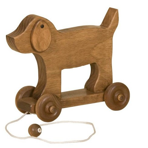 Remley Kids Wooden Dog Pull Toy - image 1 of 1