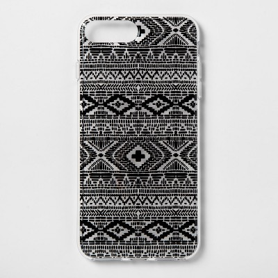 heyday™ Apple iPhone 8 Plus/7 Plus/6s Plus/6 Plus Printed Case - Black
