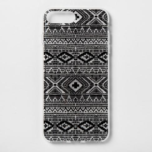 heyday™ Apple iPhone 8 Plus7 Plus6s Plus6 Plus Printed Case Black