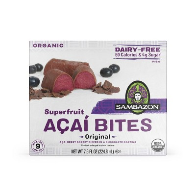 Sambazon Frozen Superfruit Acai Bites - Original - 9ct