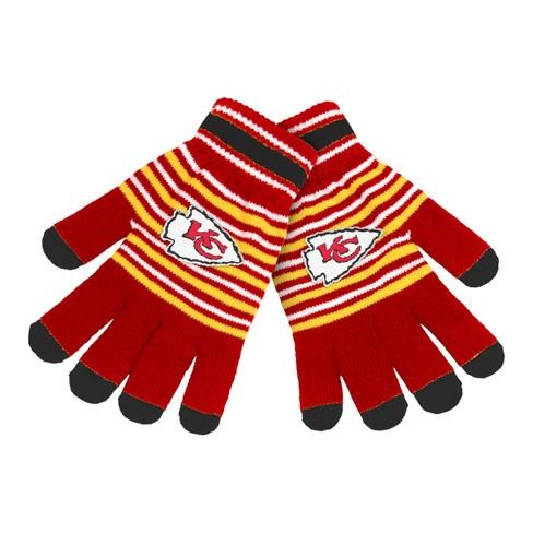 NFL Kansas City Chiefs Knit Glove   Target 7993d2b3d02f