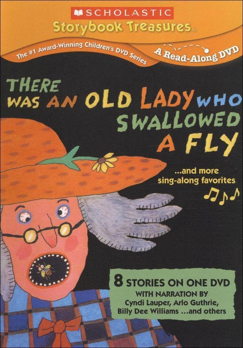 There was an old lady who swallowed a (DVD) - image 1 of 1