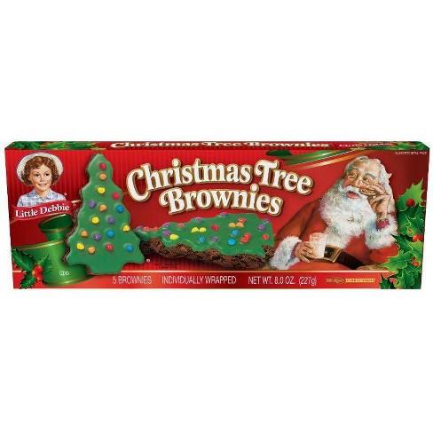 Little Debbie Christmas Tree Brownies - 8oz - image 1 of 1