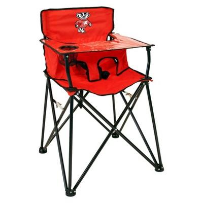 NCAA Wisconsin Badgers Portable High Chair