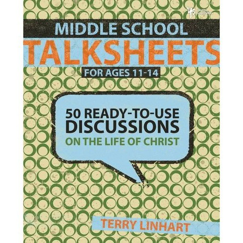 Middle School Talksheets for Ages 11-14 - by  Terry D Linhart (Paperback) - image 1 of 1