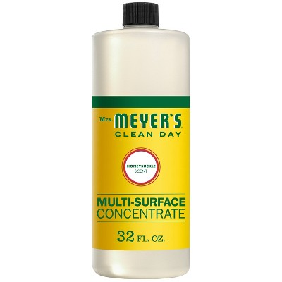 Mrs. Meyer's Honeysuckle Multi-Surface Concentrate - 32 fl oz