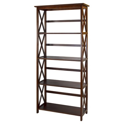 "Montego 63"" 5 Tier Bookcase"