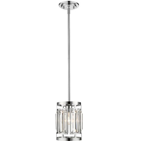 "Z-Lite 6007MP Mersesse Single Light 5-1/2"" Wide Mini Pendant - image 1 of 1"