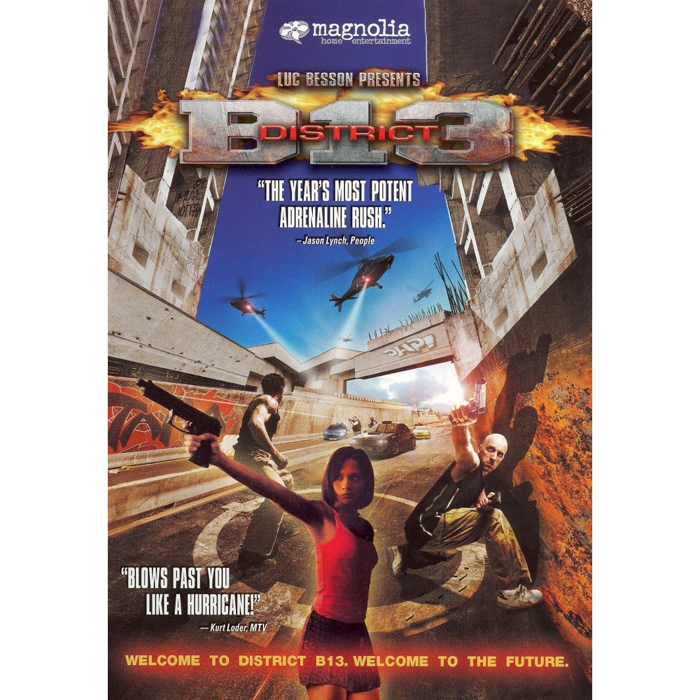 District B13 (Dvd), Movies