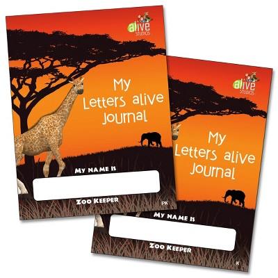 Alive Studios My Letters Alive PreK and Kindergarten Journals