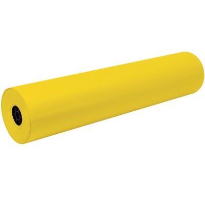 Tru-Ray Art Roll, 36 Inches x 500 Feet, 76 lb, Yellow