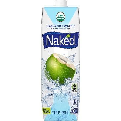 Naked Juice Organic Vegan Coconut Water - 33.8oz