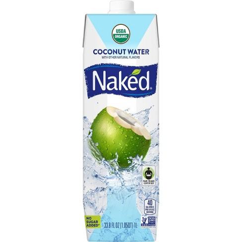 Naked Juice Organic Vegan Coconut Water - 33.8 fl oz Bottle - image 1 of 3