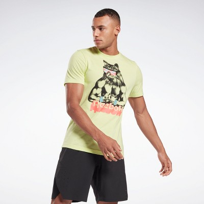 Reebok Gritty Kitty T-Shirt Mens Athletic T-Shirts
