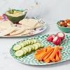 2pc Bamboo Melamine  Floral Serving Platter - Opalhouse™ - image 3 of 4