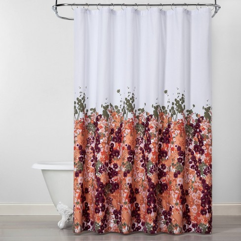 Creeping Floral Shower Curtain - Opalhouse™ - image 1 of 4