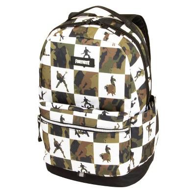 """Fortnite 18"""" Kids' Multiplier Backpack - Olive/White"""