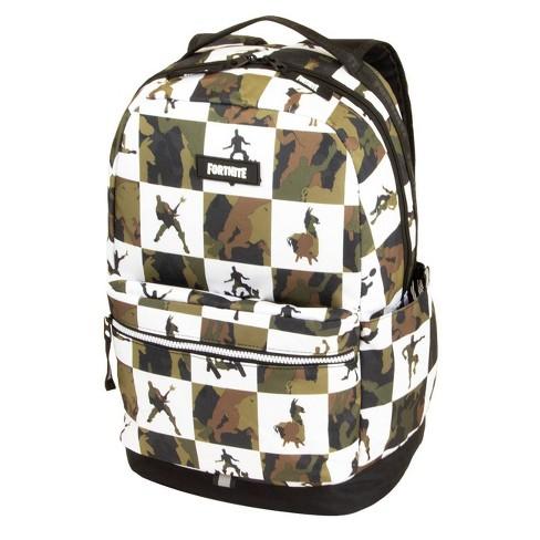"""Fortnite 18"""" Kids' Multiplier Backpack - Olive/White - image 1 of 4"""