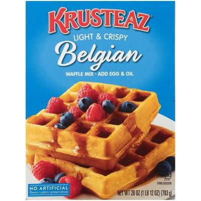 Krusteaz Belgian Waffle Mix - 28oz