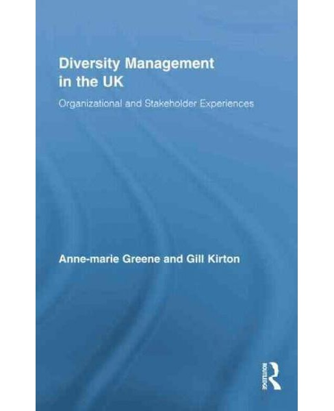 Diversity Management in the UK : Organizational and Stakeholder Experiences (Reprint) (Paperback) - image 1 of 1