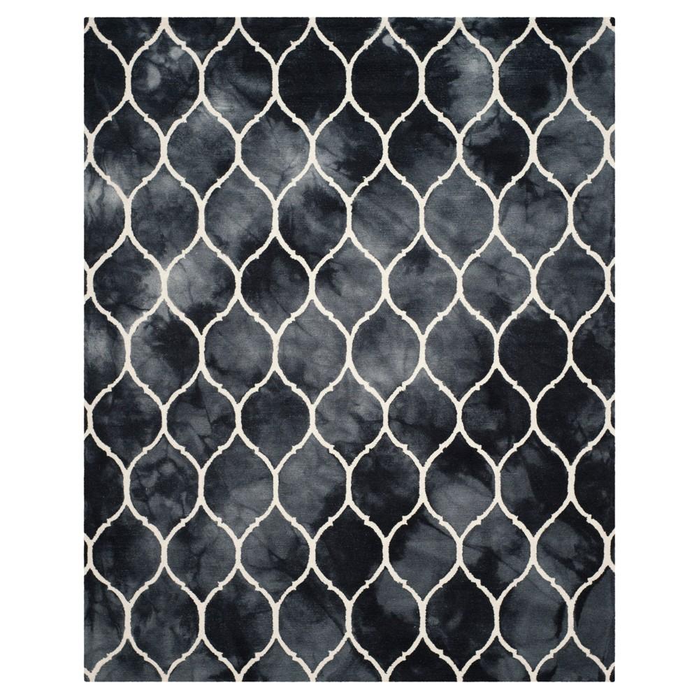 Adkins Area Rug - Graphite / Ivory (8' X 10') - Safavieh, Grey/Ivory