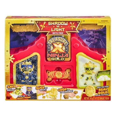 Treasure X Ninja Gold - Shadow vs. Light Battle Pack