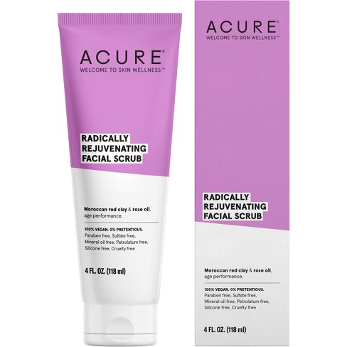Acure Radically Rejuvenating Facial Scrub - 4 fl oz - image 1 of 3