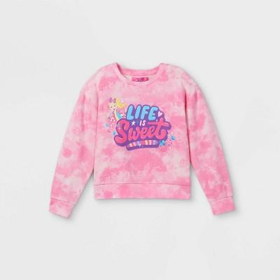 Girls' JoJo Siwa Pullover Sweatshirt - Pink