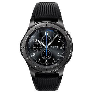Samsung Gear S3 Frontier Smartwatch - Dark Gray