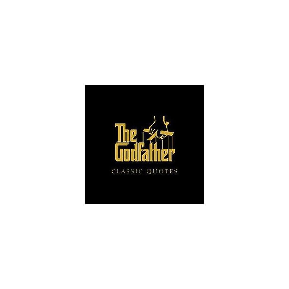 Godfather Classic Quotes (Hardcover) (Carlo Devito)