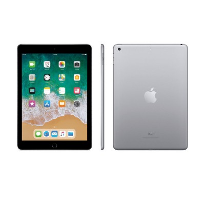 Apple iPad 9.7  32GB Wi-Fi Only (2018 Model, 6th Generation, MR7F2LL/A)- Space Gray