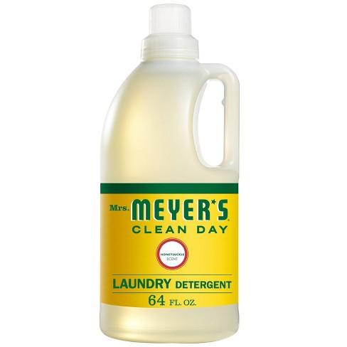 Mrs. Meyer's Clean Day Honeysuckle Laundry Detergent - 64 fl oz - image 1 of 4