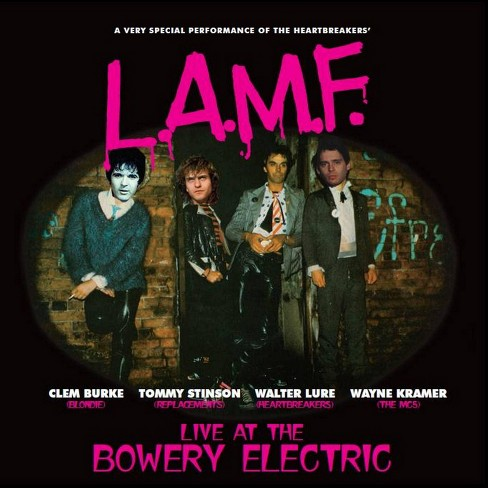 Walter Lure - L.A.M.F.: Live Bowery Electric (CD) - image 1 of 1