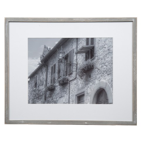 Gallery Perfect 8 X 10 5 7 4 6 7pc Photo Wall Kit With Decorative Frame Set Gray