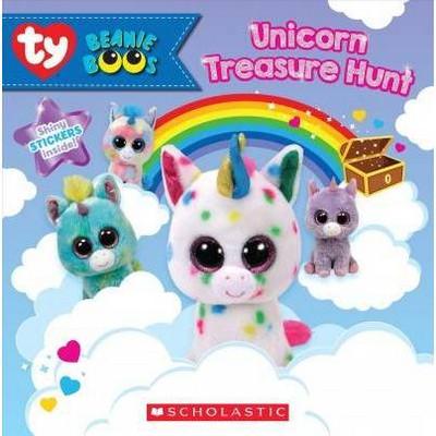 Unicorn Treasure Hunt - (Beanie Boos) by  Meredith Rusu (Paperback)