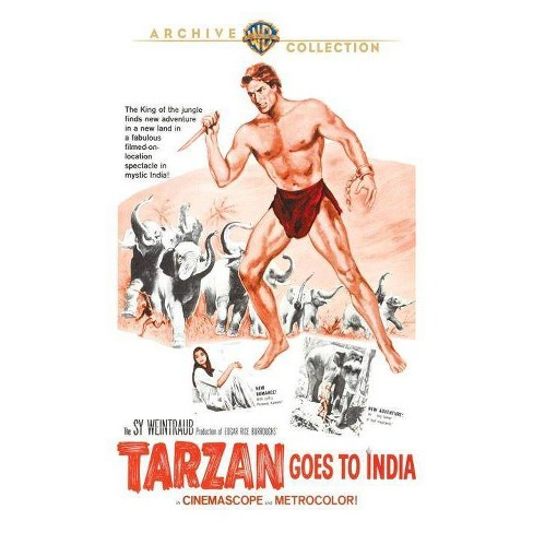 Tarzan Goes To India (Blu-ray) - image 1 of 1