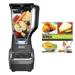 Ninja Professional 1000 Watt Blender & 150 Recipe Book(Certified Refurbished)