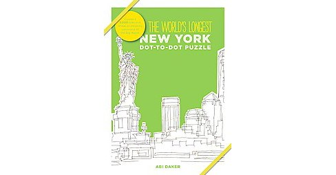 World's Longest Dtd - New York : New York (Hardcover) (Abi Daker) - image 1 of 1