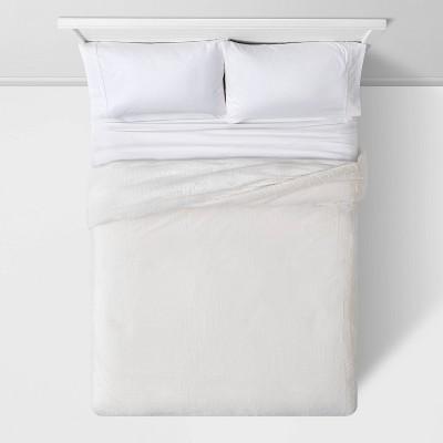 Threshold™ Faux Fur Comforter & Sham Set : Target