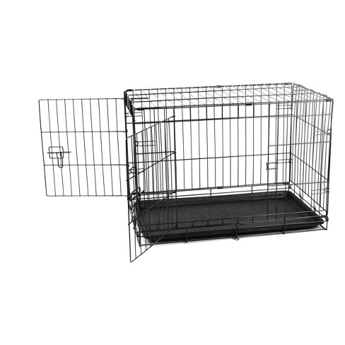 Carlson Two Door Wire Cat And Dog Crate With Divider Medium Target
