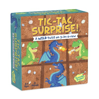 MindWare Tic Tac Surprise: Dragons Vs. Dinosaurs - Early Learning