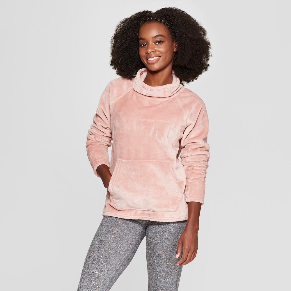 Women's Luxe Fleece Pullover - C9 Champion Dream Pink XL