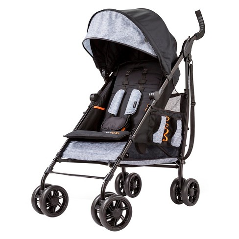 Summer Infant 3Dtote Convenience Stroller (Black/Gray) - image 1 of 4