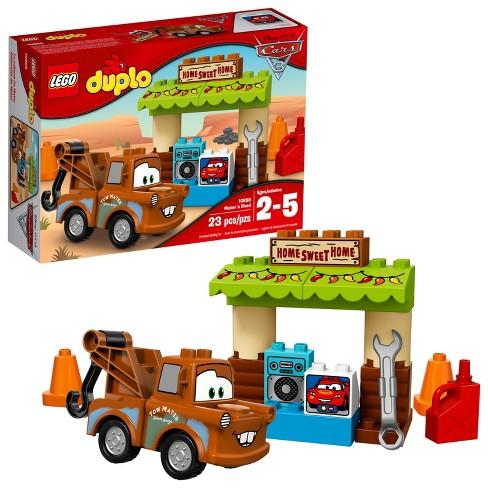 lego duplo disney pixar cars 3 mater s shed 10856 target