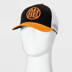 Men's Dragon Ball Z Trucker Hat - Black One Size