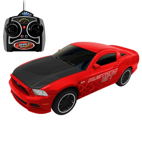 Jam'n Products Gear'd Up Ford Mustang GT Remote Control, Red 1:24 Scale - image 1 of 1