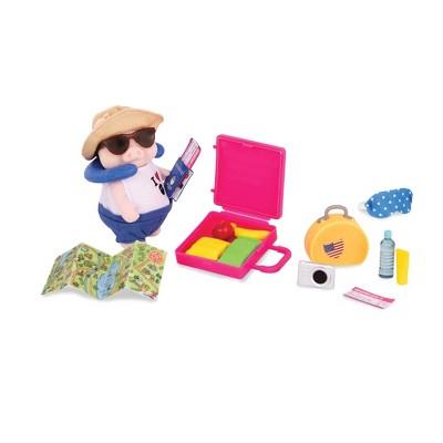 Li'l Woodzeez Miniature Playset with Animal Figurine 19pc - Travel Set?